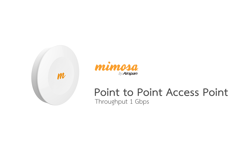 Mimosa | B5-TH | B5-TH 5GHz 1 Gbps capable Backhaul